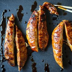 Give your summer grilling a healthy Japanese twist with this Turkey Yakitori.