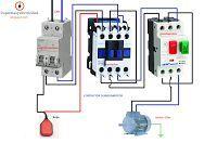 Esquemas eléctricos: motor monofasico contactor guardamotor mas boya