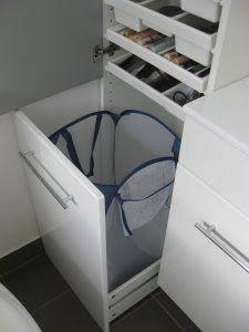 IKEA Hackers: Laundry basket storage hack
