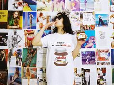 Love. No. I prefer NUTELLA T-shirt