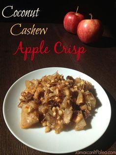 Coconut Cashew Apple Crisp | fastPaleo Primal and Paleo Diet Recipes