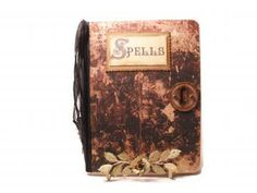 Halloween Spell Book, Fun Witch Spell Journal, Composition Book of Spells by Dorothyjane for $15.00
