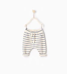 Striped trousers-TROUSERS-MINI | 0-12 months-KIDS | ZARA United States