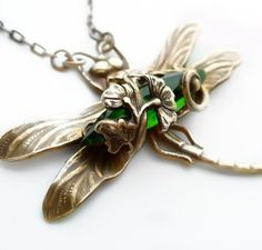 Dragonfly, WOW, I love the green!!