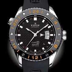 EDOX CLASS 1 GMT Titanium