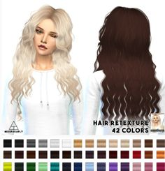 Miss Paraply: Sintiklia`a Britney hairstyle retextured by Artemis  - Sims 4 Hairs - http://sims4hairs.com/miss-paraply-sintikliaa-britney-hairstyle-retextured-by-artemis/