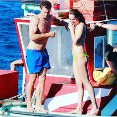 Mr & Mrs Grey! #fiftyshadesfreed #honeymoon