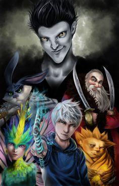 Rise of the Guardians by renjinx.deviantart.com