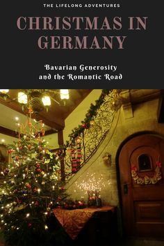 Christmas in Germany, Bavaria, Romantic Road