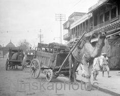Camel pulled caravan in Delhi, India, by J. Dearden Holmes, 1920s antique photo reprint, vintage photo, Animal photo, animal art by Ninskaphotos on Etsy https://www.etsy.com/uk/listing/385174636/camel-pulled-caravan-in-delhi-india-by-j