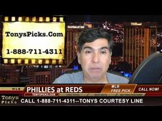 Philadelphia Phillies vs. Cincinnati Reds MLB Betting Line Odds Pick Pre...