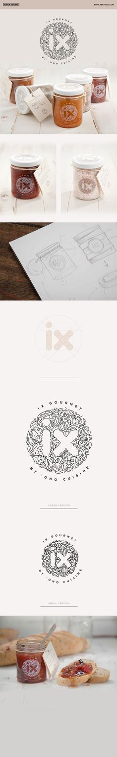 IX GOURMET Branding, Graphic Design, Packaging