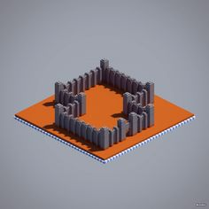 security-walls-red-sandstone-stone-iron-bars-minecraft
