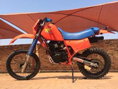 Honda XR 500 RE. A lot of hard work went into rebuilding this old beast.