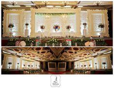 Indonesian wedding decoration Venue : Balai Sudirman