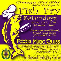 Fish Fry Party Invitations with Printed Envelopes This listing is