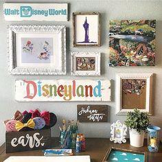 Disney Diy, Casa Disney, Deco Disney, Disney Home Decor, Disney Crafts, Disney Love, Disney Wall Decor, Diy Disney Decorations, Disney Style