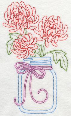 Grand Sewing Embroidery Designs At Home Ideas. Beauteous Finished Sewing Embroidery Designs At Home Ideas. Embroidery Flowers Pattern, Learn Embroidery, Machine Embroidery Patterns, Embroidery Applique, Flower Patterns, Cross Stitch Embroidery, Embroidery Ideas, Embroidery Thread, Vintage Embroidery Patterns