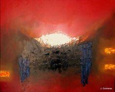Atmósferas Autor: José Contreras Categoría: Pintura. Técnica: Oleo sobre lienzo. Medidas: 90 x 1.10 cms. Fecha: 2013.  Marco: Si. Firma: Si.