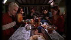 "Pangs Season 4 Anya - ""I love a ritual sacrifice."" Buffy - ""It's not really a one of those."" Anya - ""To commemorate a past event, you kill and eat an animal. It's a ritual sacrifice. With pie."" - Buffy the Vampire Slayer Joss Whedon, Geek Culture, Pop Culture, Buffy Im Bann Der Dämonen, Ritual Sacrifice, Fangirl, Buffy The Vampire Slayer, Spike Buffy, Film Serie"