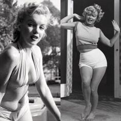 """Marilyn Monroe - """"Nothing wrong with looking how nature intended you to, no need to try and force yourself to look another way. Respect your body and be healthy because…"""" Classic Hollywood, Old Hollywood, Stars D'hollywood, Marilyn Monroe Photos, Marylin Monroe Body, Madonna Mode, Norma Jeane, Cute Couple Pictures, Body Image"""