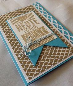 Geburtstagskarte handgemacht von Liebe Grüsse auf DaWanda.com