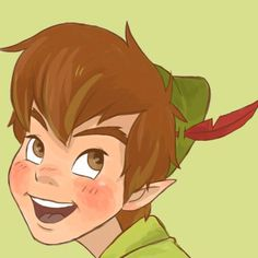 Peter Pan drawing