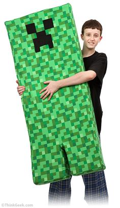Creeper Body Pillow. Want <3
