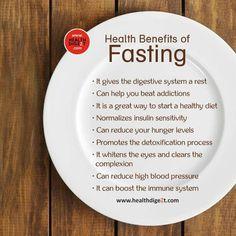 Fasting benefits.