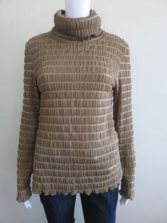 LIZA EMANUELE Top Size 10 Long Sleeve BUY 4 or more items 4 FREE POST #LizaEmanuele #EveningOccasion