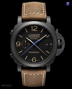 OFFICINE PANERAI – LUMINOR 1950 3 Days Chrono Flyback Automatic CERAMICA 44mm - PAM00580