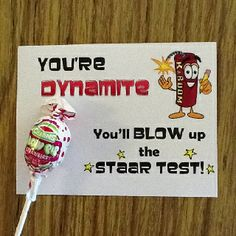 Tell your students that you believe in them before the STAAR test.