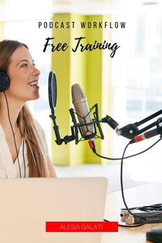 Would you like my FREE training to keep your podcast workflow on track every week? Grab my FREE Podcast Workflow Training! Swipe the extensive process I use for my high-level podcast clients! This training includes a video, full-length checklist, and Trello board to guide you through each step of your podcast production without forgetting something! Business Entrepreneur, Business Tips, Working Mom Tips, Video Full, Perfect Word, Free Training, High Level, Money Management, Track