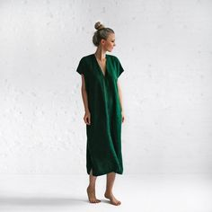 Linen Shirt Dress, Midi Shirt Dress, V Neck Dress, Belted Dress, Comfy Dresses, Linen Dresses, Tunic Dresses, Black Linen Pants, Diy Vetement