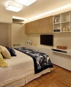 Com certeza há um cantinho no seu #quarto que você pode usar melhor! Veja estas 25 inspirações! No #simplesdecoracao