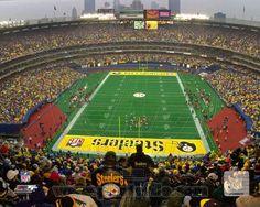 Pittsburgh Steelers Three Rivers Stadium