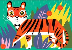 Jungle Time - http://www.allisonblackillustration.com/