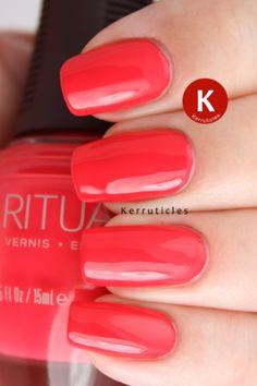 SpaRitual Last Tango - I have a nail polish giveaway on the Kerruticles blog tomorrow
