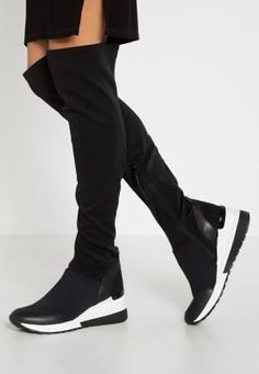 MICHAEL Michael Kors ACE - Stivali sopra il ginocchio - black a € 275,00 (30/10/16) Ordina senza spese di spedizione su Zalando.it