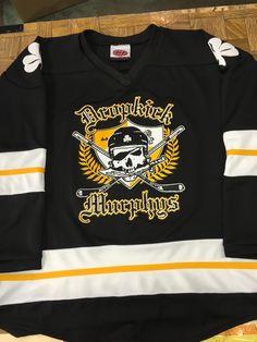 5e7a24b72 Custom Dropkick Murphys Hockey Jerseys. Made in the USA at K1 Sportswear.  Lacrosse Uniforms