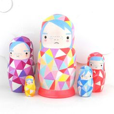 Paint your own Russian doll
