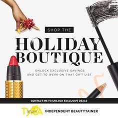 Take the guesswork out of your holiday shopping! I'm obsessed with TYRA Beauty's Holiday Boutique... It has something for everyone on your list! https://multibra.in/6t376