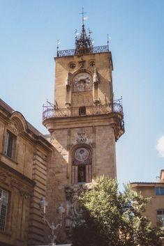 aix en provence clock tower