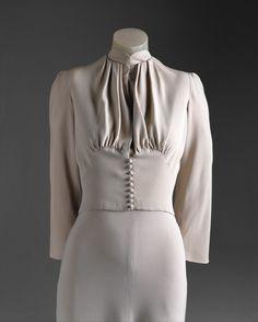 exquisitemainbocher silk, 1937