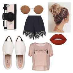 """""""Без названия #2"""" by alexandrareykh ❤ liked on Polyvore featuring Miu Miu, Kate Spade, Sunday Somewhere, Chloé, ONLY and Lime Crime"""