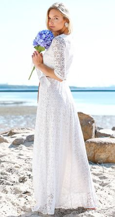 Floral Maxi Lace Dress
