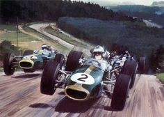 Michael Turner (b.1934) — 1967 Denny Hulme German gp (1024×733)