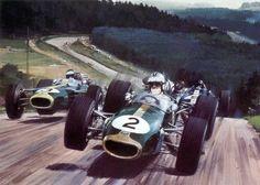 Michael Turner (b.1934) —   1967 Denny Hulme German gp (1024×733)
