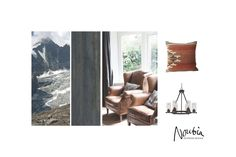 Moodboard for a ski resort in Zillertal, Austria by www.noubia.com, #noubia_interieurontwerp