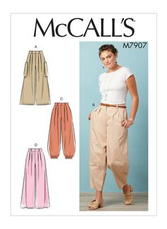 f7eda5053b46 42 Best Trousers sewing patterns images
